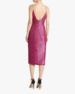 Jonathan Simkhai Sequin-Embroidered Cami Wrap Dress 2