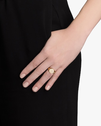 Horizon Signet Ring