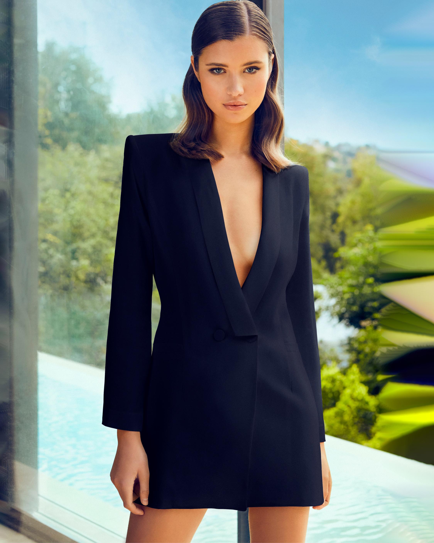 Tatiana Tuxedo Dress