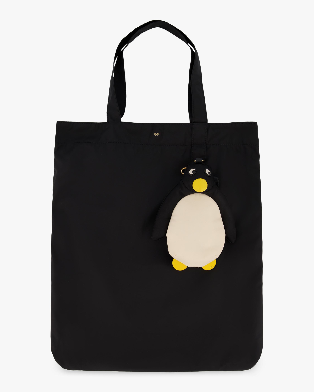 Anya Hindmarch Penguin Charm Shopper 1