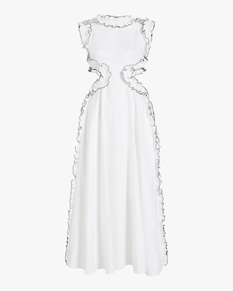 Christopher Kane Frill Cut-Out Dress 1