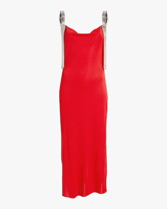 Christopher Kane Cowl Neck Jersey Dress 1