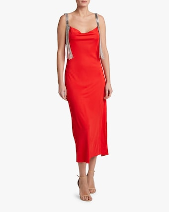 Christopher Kane Cowl Neck Jersey Dress 2