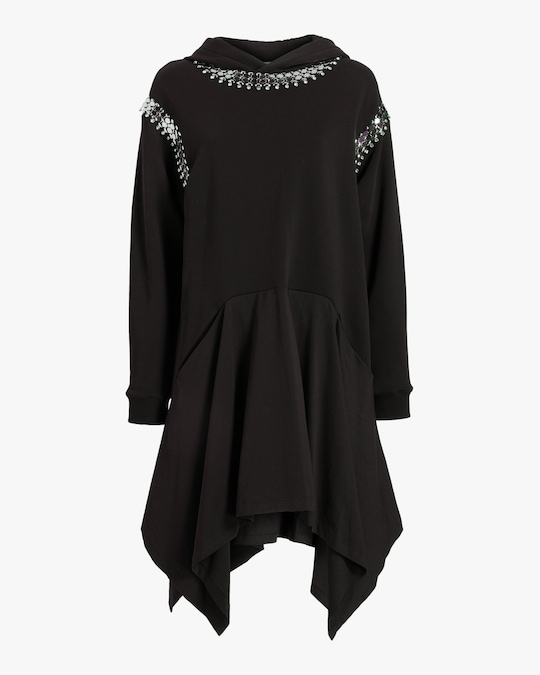 Christopher Kane Chain Hoodie Dress 0