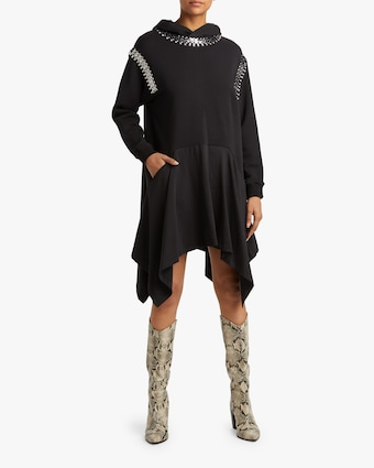 Christopher Kane Chain Hoodie Dress 2