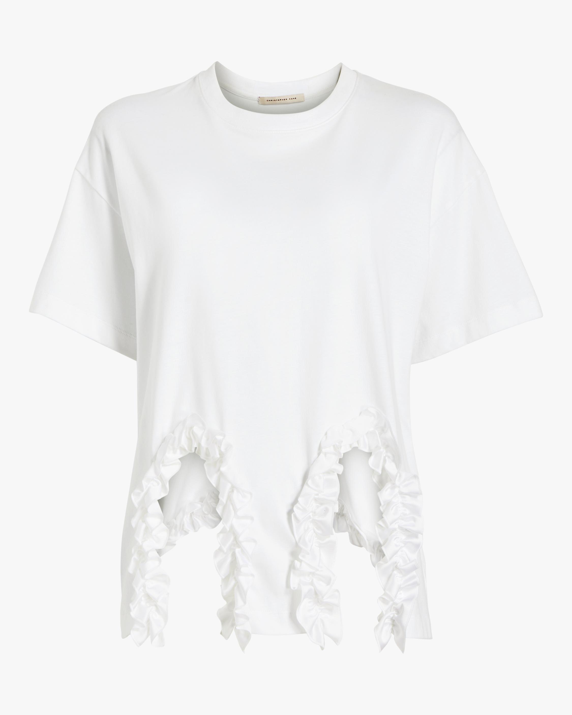 Frill Cut-Out Shirt
