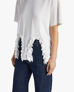 Christopher Kane Frill Cut-Out Shirt 4
