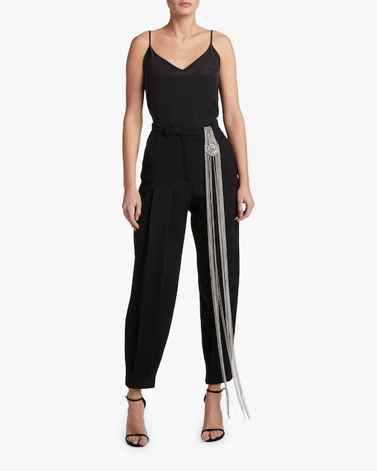 Christopher Kane Wool Tailored Brooch Trousers 1