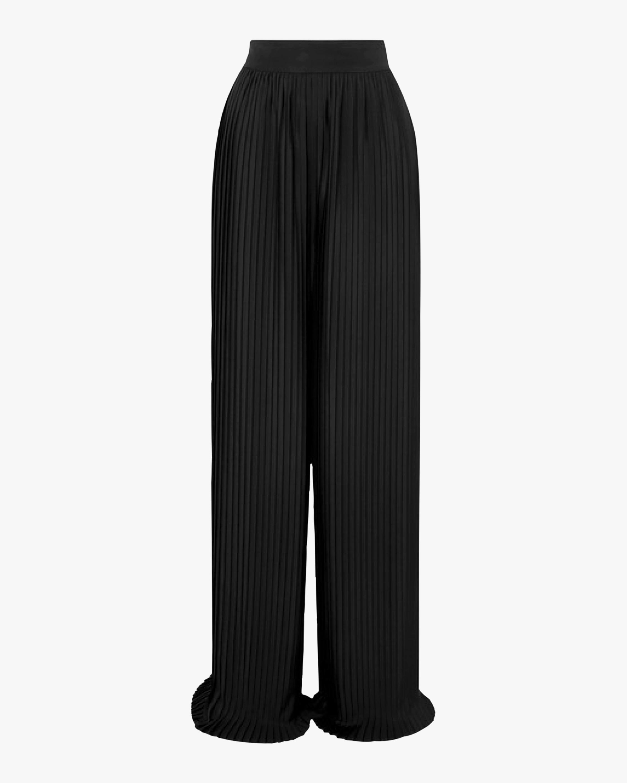 SemSem Pleated Crêpe Wide-Leg Pants 1