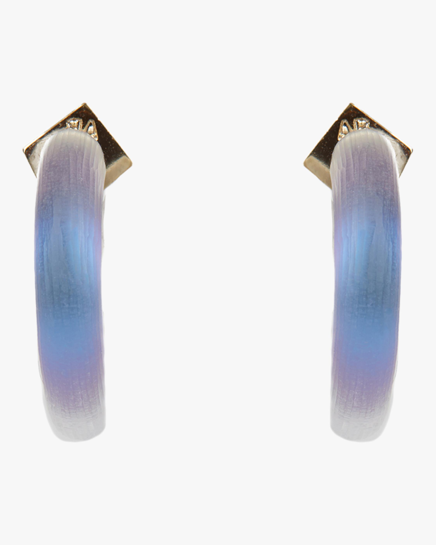 Small Thin Hoop Earrings