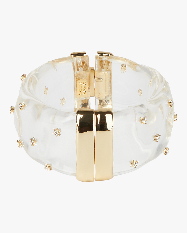 Alexis Bittar Spike Studded Large Hinge Bracelet 0