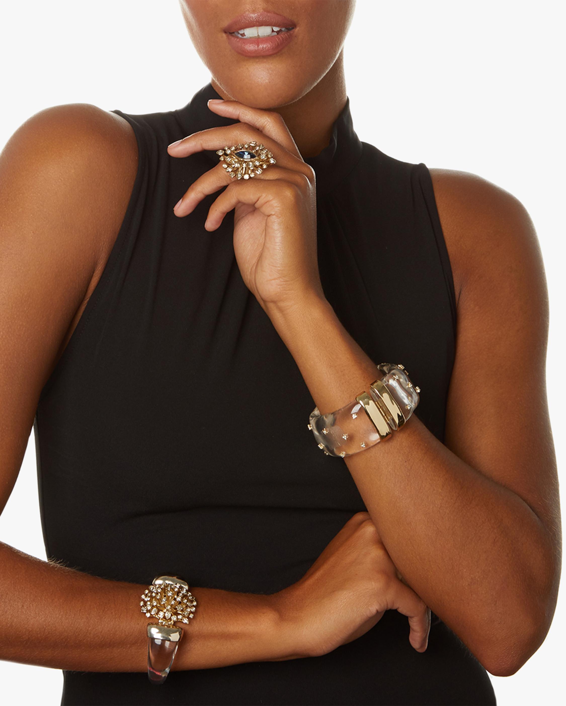 Alexis Bittar Spike Studded Large Hinge Bracelet 1