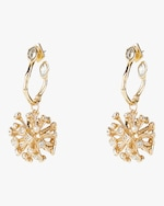 Alexis Bittar Crystal Burst Hoop Earrings 2