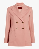 ALEXACHUNG Double-Breasted Tailored Jacket 0