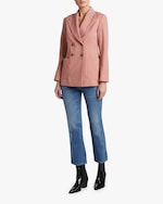 ALEXACHUNG Double-Breasted Tailored Jacket 1