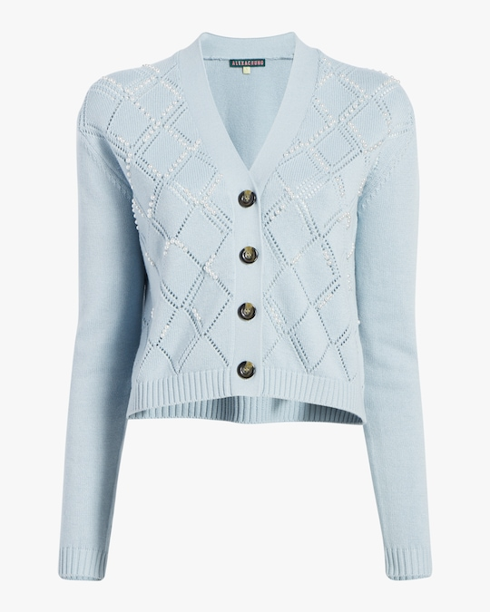 Alexa Chung Mabel Embroidered Cardigan