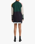 ALEXACHUNG Color Block Cardigan 2