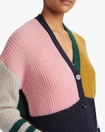 ALEXACHUNG Color Block Cardigan 3