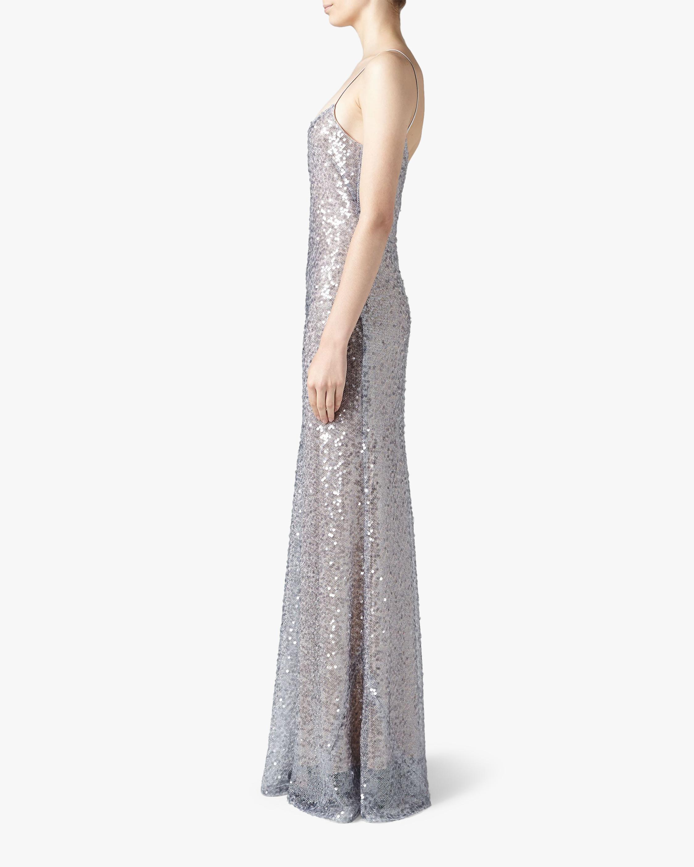 Galvan Estrella Spaghetti Strap Dress 2