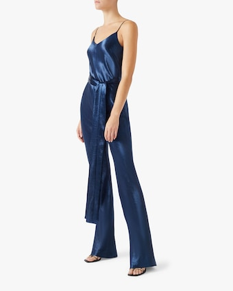 Metallic Slouchy Jumpsuit
