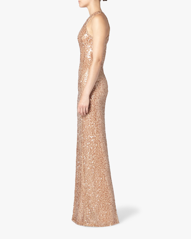 Galvan Pailette Column Dress 1