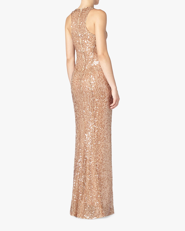 Galvan Pailette Column Dress 2