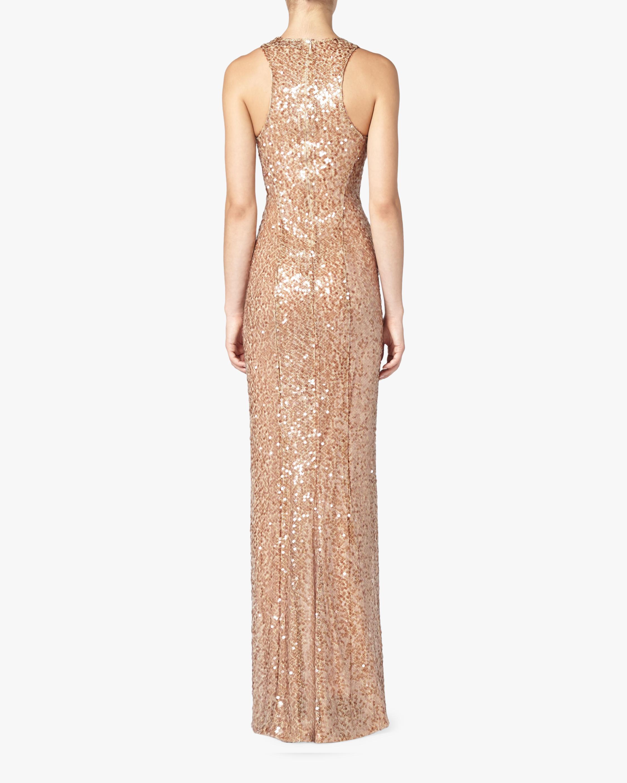 Galvan Pailette Column Dress 3