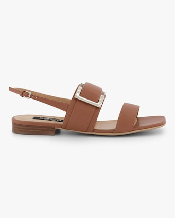 Double-Strap Buckle Sandal