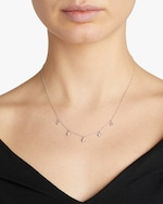 Roberto Coin Five-Station Diamond Necklace 1