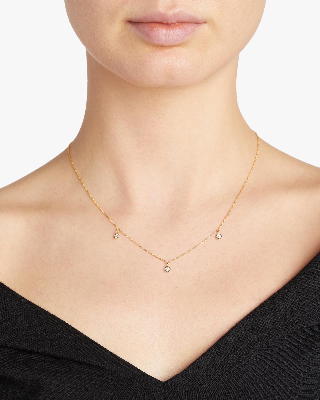Roberto Coin Three-Station Diamond Necklace 1