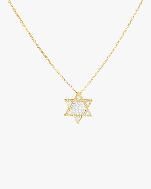 Mini Star of David Pendant Necklace