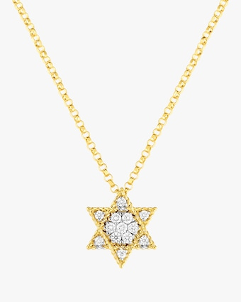 Roberto Coin Mini Star of David Pendant Necklace 1