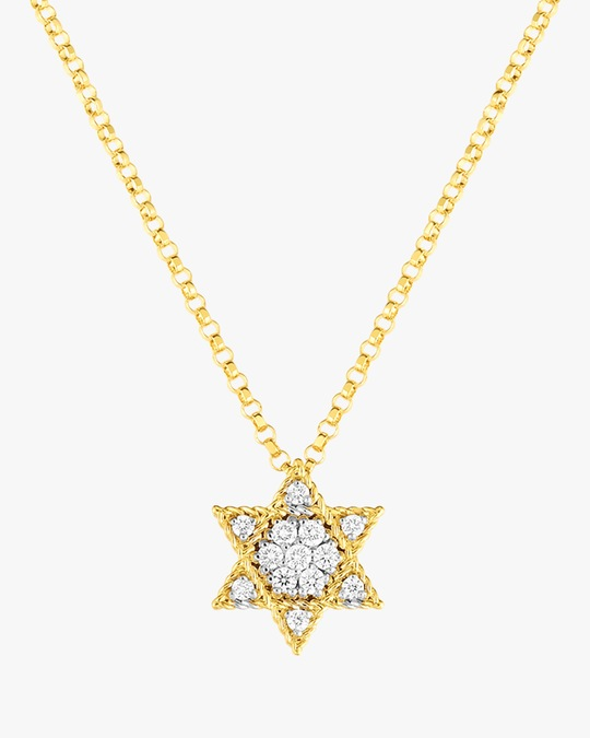 Roberto Coin Mini Star of David Pendant Necklace 0