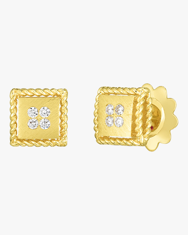 Roberto Coin Palazzo Stud Earrings 0