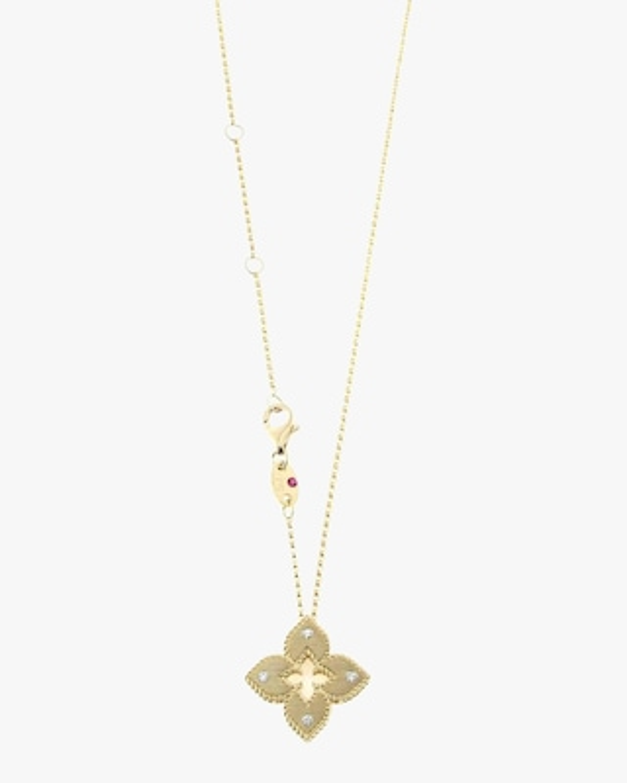 Roberto Coin Yellow Gold Venetian Pendant Necklace 1