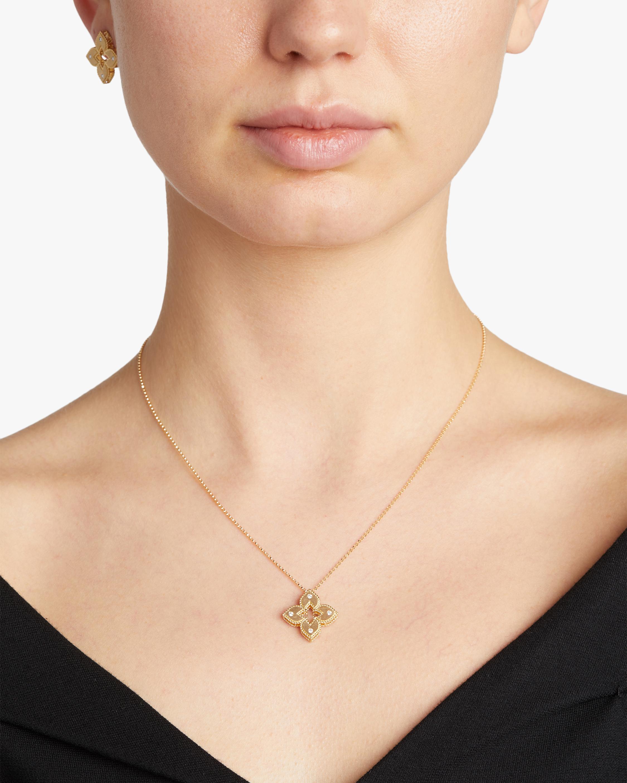 Roberto Coin Yellow Gold Venetian Pendant Necklace 2