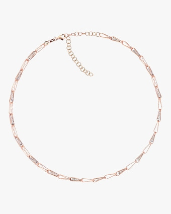 Sparkling Clips Chain Choker