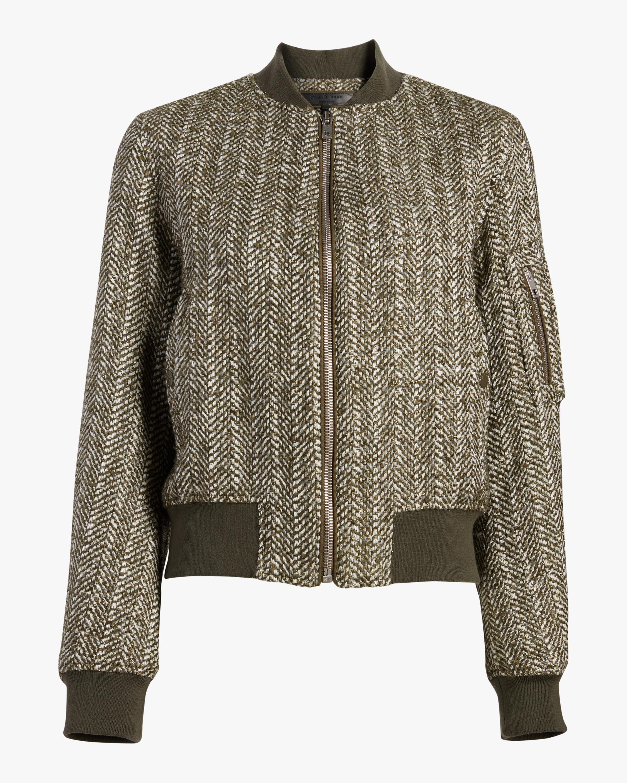 Manston Herringbone Bomber Jacket