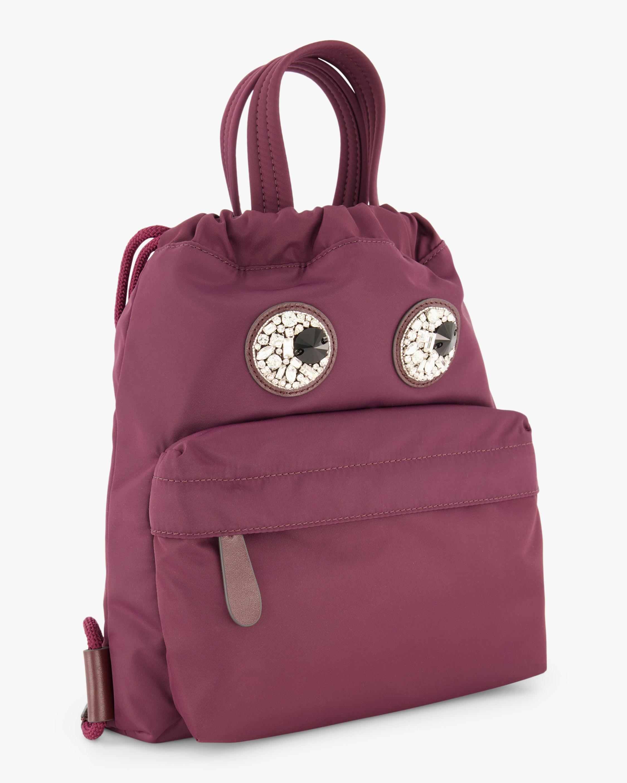 Mini Crystal-Eyes Drawstring Backpack