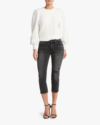 The Scout Raw Hem Jeans