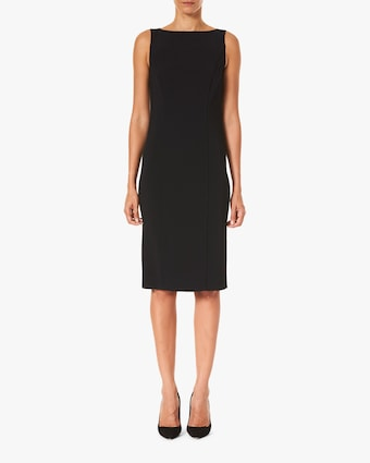 Bateau-Neck Sheath Dress