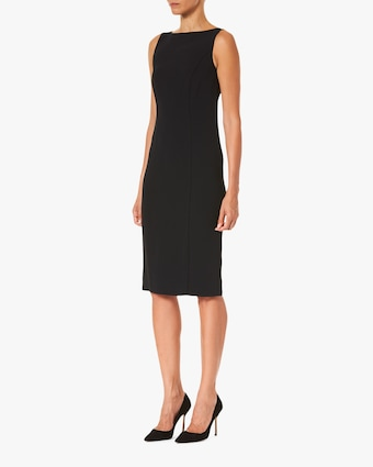 Carolina Herrera Bateau-Neck Sheath Dress 2