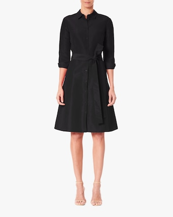 Carolina Herrera Belted Shirt Dress 1