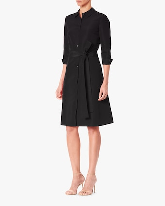 Carolina Herrera Belted Shirt Dress 2