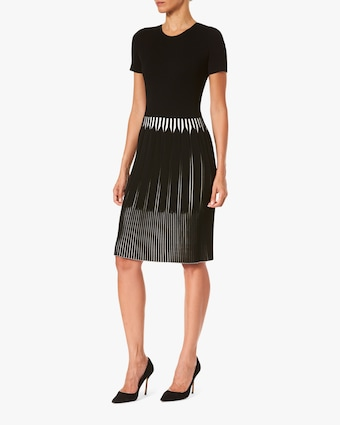 Carolina Herrera Fit & Flare Dress 2