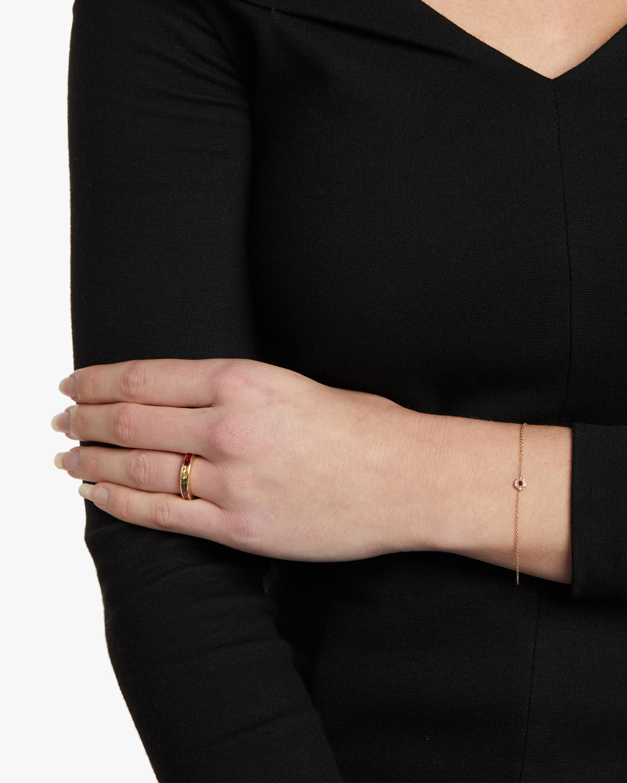 Octavia Elizabeth Ruby Nesting Bracelet 2