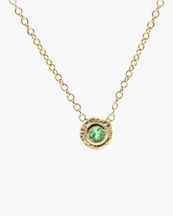 Emerald Nesting Pendant Necklace