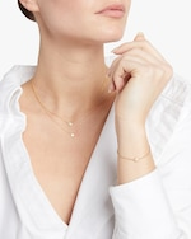 Octavia Elizabeth Emerald Nesting Pendant Necklace 1