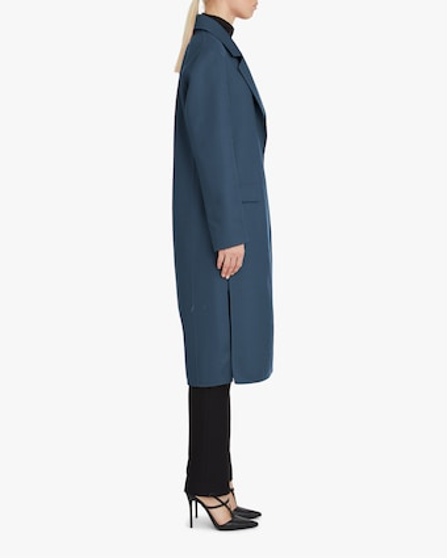 Cashmere-Blend Blazer Coat
