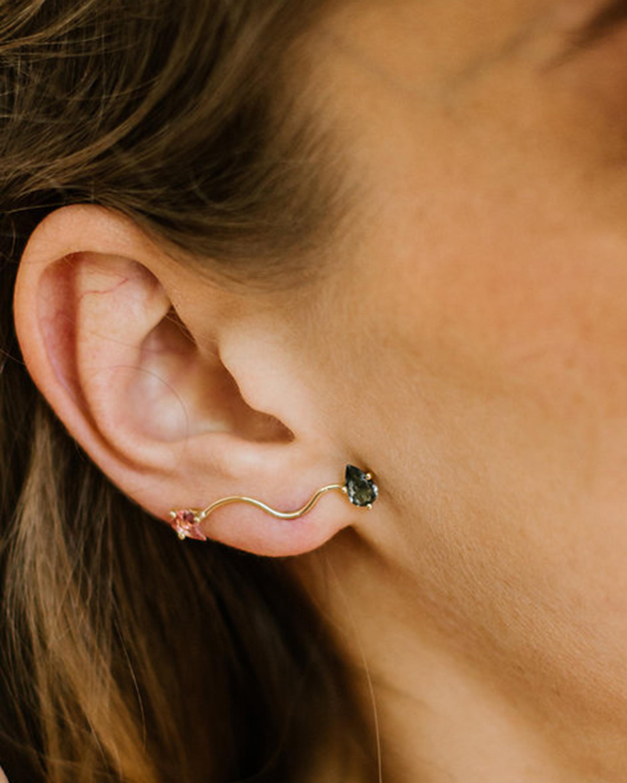 Nayestones Singular Eloise Earring 2